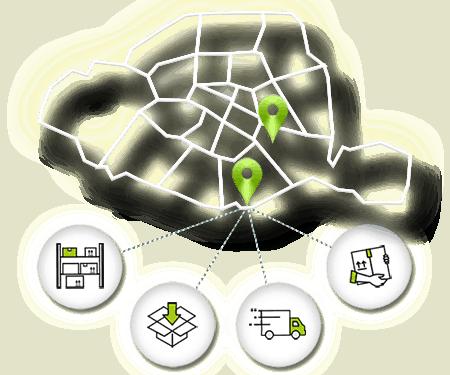 entrepôts logistiques urbanhub
