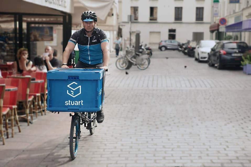 Livraison verte Paris vélo cargo
