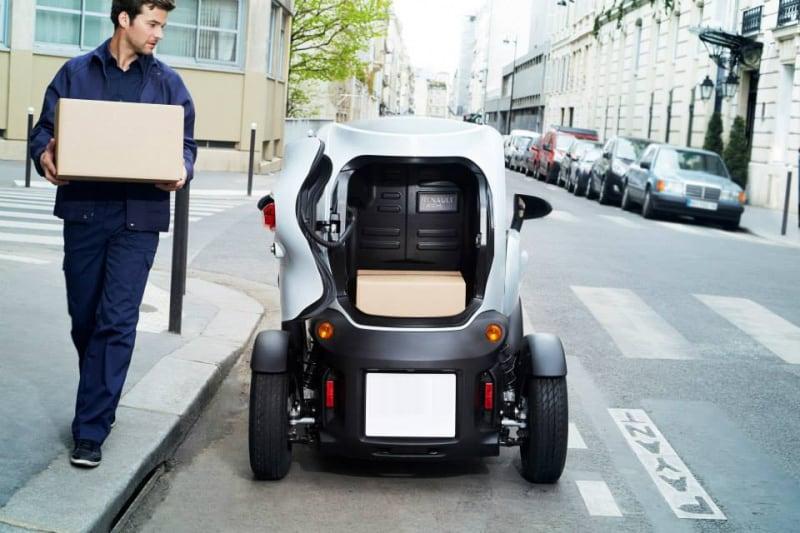 Livraison verte vehicules électriques