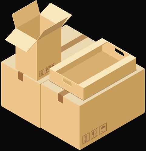 preparation de commande - Paris Urbanhub emballage et éco-emballage